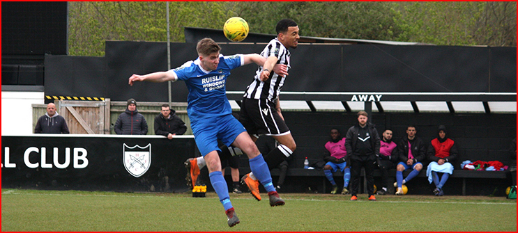 Woods are beaten at Hanwell Town